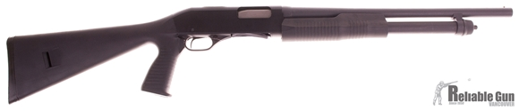 "Picture of Used Stevens/Savage 320 Security Pump Action Shotgun, 20 Gauge, 18.5"" BBL w' Bead Sight, Synthetic Stock W/ Pistol Grip, 5rd, Salesman Sample"