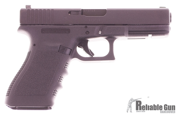 Picture of Used Glock 21 Gen3 Semi-Auto 45 ACP, WIth Trijicon Night Sights, One Mag & Original Box, Excellent Condition