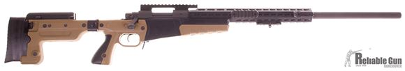 """Picture of Used Remington 700 Varmint Bolt-Action 308, 26"""" Heavy Barrel, With AICS AX Chassis & 20 MOA Rail, One Mag & Hard Case, Very Good Condition"""