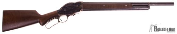 """Picture of Used Chiappa 1887 Lever Action Shotgun - 12Ga, 2-3/4"""", 22"""", Blued, Color Case Hardening Finish Receiver, Walnut Forearm & Pistol Grip, 5rds, A few Minor marks on The Stock, Overall Good Condition"""