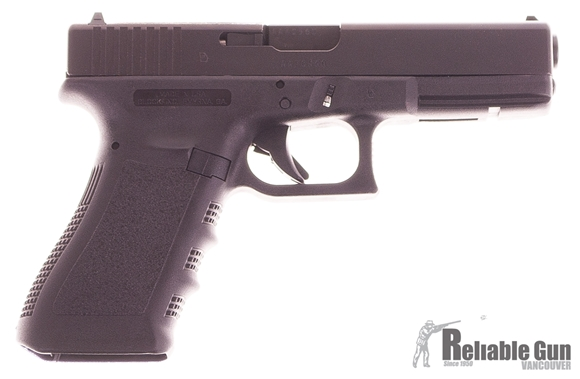 Picture of Used Glock 17 Gen 3 Semi Auto Pistol, 9mm Luger, 2x10rd mags, Like New In Box(Unfired)