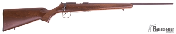 Picture of Used CZ 455 American Bolt Action Rifle, 17 HMR, 1 Mag, Wood Stock, Excellent Condition