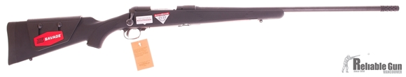"Picture of Used Savage Model 11 Long Range Hunter, 6.5 Creedmoor, 26"" Barrel, Synthetic Accustock, Accutrigger, Muzzle Brake, Unfired New in Box"