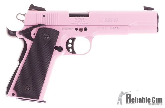 Picture of Used GSG 1911-22 Semi-Auto .22LR, Pink, One Mag, Good Condition