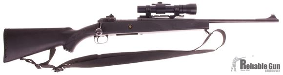 "Picture of Used Savage Model 10 Scout Bolt-Action 308, 21"" Barrel, With Williams Peep Sights & Aimpoint 5000XD 2x Scope, One Mag, Good Condition"