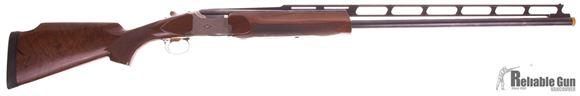 "Picture of Used Winchester 101 Diamond Grade Over-Under 12ga, 2 3/4"" Chambers, Trap Combo With 32"" O/U Barrels & 34"" Un-Single Barrel, 4 Chokes & Takedown Hard Case, Good Condition"