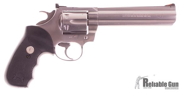"""Picture of Used Colt King Cobra Double-Action .357 Mag, 6"""" Barrel, Stainless, Good Condition"""