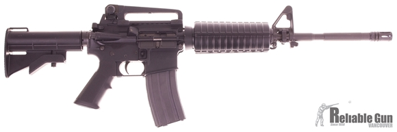 """Picture of Used Colt 6920 Semi-Auto 5.56mm, 16"""" Barrel, With CAR Stock, One Mag & Colt Soft Case, Very Good Condition"""