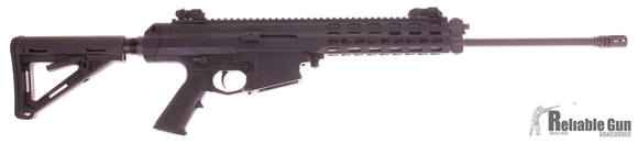 "Picture of Used Rob Arms XCR-L Semi Auto Rifle, 5.56, LWT 18.5"" Barrel, Buffertube Stock Conversion/Magpul Stock(Includes Original, 10rd LAR Mag, Original Case, Like New Condition"