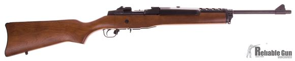 Picture of Used Ruger Mini 30 Semi Auto Rifle, 7.62x39, Wood Stock, Blued Barrel, 5rd mag, Very Good Condition