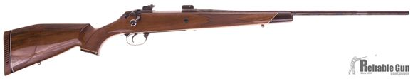 "Picture of Used Kleinguenther Voere Model K15 Bolt Action Rifle, 7mm Rem Mag, Blued, Comes With Set of Buehler 1"" Rings, Very Good Condition"