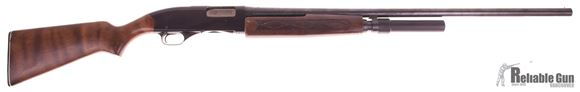 """Picture of Used Winchester Model 2200 Pump Action Shotgun, 12-Gauge 3"""" 30"""" Barrel, 2 Shot Extention, Wood Stock, Fair Condition"""