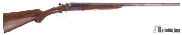 "Picture of Used Armas Bost SxS Shotgun, 12 Ga, 2 3/4"", 26"" Barrels, Metal Good Condition, Stock Fair Condition"