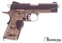 "Picture of Used Kimber 1911 Pro Covert II Single Action Semi-Auto Pistol - 45 ACP, 4.25"", Matte Black Slide, Dark Earth KimPro II Aluminum Frame, Digital Camo Crimson Trace Lasergrips Kimber Logo Grips, 2x7rds, Fixed Tactical Wedge Tritium Night Sights, Very Good"
