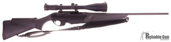 """Picture of Used Like New Benelli R1 Big Game Semi-Auto Rifle - 30-06 Sprg, 22"""", Blued, Black Synthetic ComforTech Stock w/GripTight Coating, 4rds, W/ Zeiss Conquest 3-12x56 Scope, Sling"""