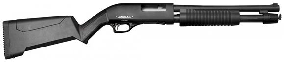 "Picture of Canuck Regulator/Defender Combo Pump Action Shotgun - 12ga, 3"", 14"", Synthetic Stock & Bird Head Style Grip, 4rds, 3 Mobil Chokes(F,M,IC)"