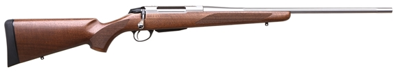 """Picture of Tikka T3X Hunter Bolt Action Rifle - 300Win, 24.5"""", Fluted, Stainless, Matte Oiled Walnut Stock, 3rds, No Sights"""