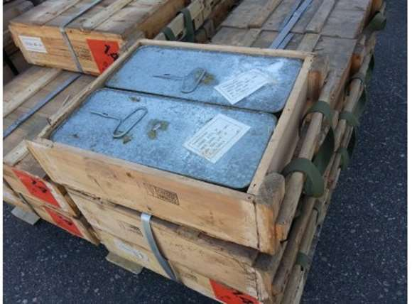 Picture of Chinese Surplus - 7.62x39, 123gr, FMJ, 750rds Half Crate, Corrosive