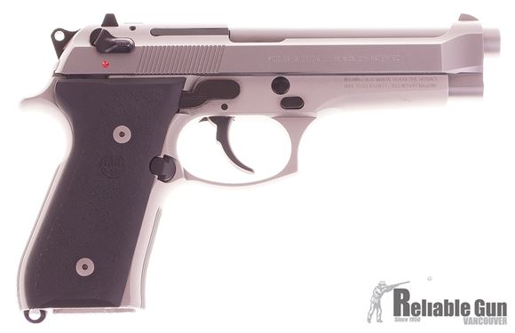 Picture of Used Beretta 92FS Inox Made in USA 9mm - 2x 10rd Mags, Box, Manual