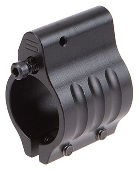 """Picture of SLR Rifleworks AR Parts - Sentry Clamp On Adjustable Gas Block, Melonite QPQ Finish, .750"""", 15-position"""