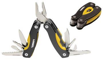 "Picture of Lansky Sharpeners Mini Muti-Tool - 10x tools, Black/Yellow, 2-3/4"" x 3/4"""