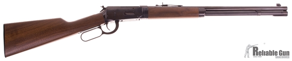 "Picture of Used Winchester Model 94 Trails End Takedown Lever Action Rifle - 30-30 Win, 20"", Sporter Contour, Triple-Checked Button Rifled, Brushed Polish Blued, Satin Grade I Walnut Stock, 6rds, Marble Arms Brass Bead Front & Adjustable Semi-Buckhorn Rear Sights,"