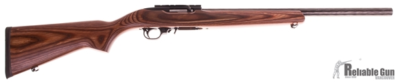 "Picture of Used Ruger 10/22 Target Rimfire Semi-Auto Rifle - 22 LR, 20"", Heavy Target Barrel, Brown Laminate Stock, 1 Magazine, New Condition"