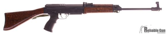 Picture of Used CZ 858 Semi-Auto 7.62x39, With Original Furnature, Fab Defense Grip, & Spare Folding Stock, 4 Mags & Bayonet, Very Good Condition