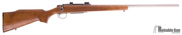 Picture of Used Remington 788 Target, Bolt action Rifle, 308 Win, 24'' Heavy Stainless Barrel, Wood Stock, 1 Magazine, Good Condition