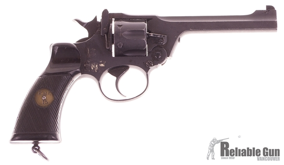 Picture of Enfield No.2 Mark 1 38 S&W Double Action Top Break Revolver 1939 - Good Condition