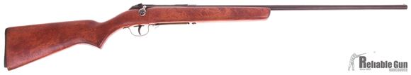 Picture of Used Savage Model 18C, 410-Bore, Bolt Action Shotgun, Wood Stock, (Plastic Butt Plate is Broken) 1 Magazine, Fair Condition