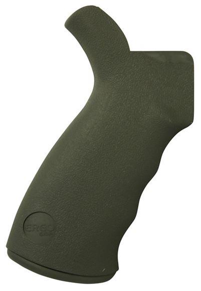 Picture of ERGO AR-15 Parts - SureGrip, Aggressive Texture, OD Green