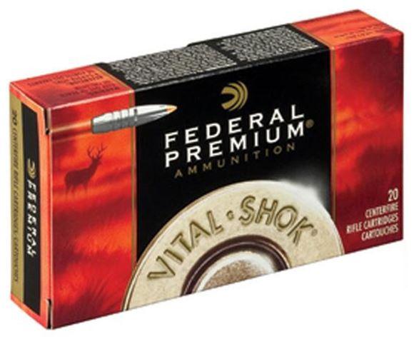 Picture of Federal Premium Vital-Shok Rifle Ammo - 223Rem, 62gr, Trophy Bonded Tip, 20rds Box