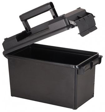 "Picture of MTM Case-Gard Ammo Cans, 50 Caliber Ammo Can - 7.4""(L)x13.5""(W)x8.5""(H) / 5.8""(L)x11.0""(W)x7.2""(H), Black"