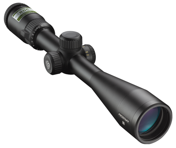 "Picture of Nikon Sport Optics Riflescopes, PROSTAFF Riflescopes - PROSTAFF 5, 3.5-14x40mm, 1"", Matte, BDC, Distance Lock, First Focal Plane, 1/4 MOA Click Adjustment, Side Adjustable Parallax, Waterproof/Fogproof"