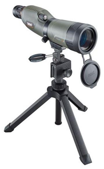 Picture of Bushnell Trophy Xtreme Spotting Scope - 16-48x50mm, BaK-4 Prisms, Waterproof/Fogproof, w/Field Tripod, Hardcase