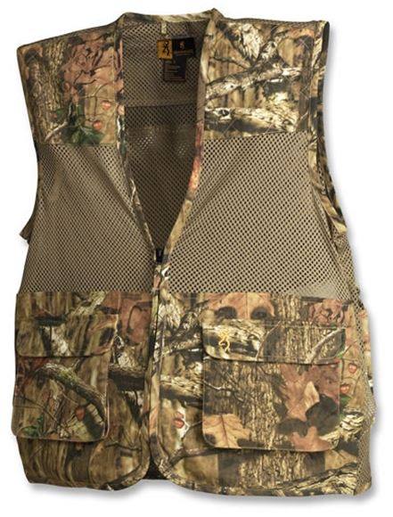 Picture of Browning Outdoor Clothing, Shooting Vests - Dove Vest MOINF Camo Medium