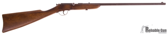 Picture of Used Page-Lewis Model D, Single Shot 22 LR, Bolt Action, Wood Stock (Cracked), Fair Condition