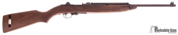 "Picture of Used Auto Ordnance M-1 Carbine Semi-Auto- 30 Carbine, 18.6"", Parkerized, Walnut Stock, Top Rail, 1 Magazine, Blade Front & Flip Style Rear Sights, Good Condition"