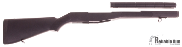 Picture of Original Springfield M-14 Synthetic Stock (Take-off Pre-owned) w/ Heat Shield and Forend Plate, New Condition, Black