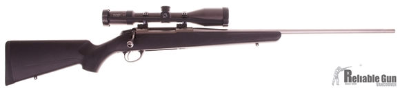 Picture of Used Tikka T3 Stainless, Bolt Action Rifle, 300 Win Mag, 24'' Stainless Barrel, Synthetic Stock, w/Zeiss Duralyt 3-12x50 Scope, Optilock Scope Mounts, 1 Magazine, Excellent Condition