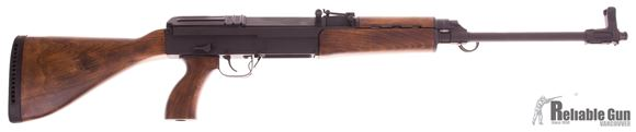 """Picture of Used Kodiak Defence WR762 Semi Auto Rifle - 7.62x39, 18.9"""" Barrel, Parkerized, Deluxe Wood Stock, One 5/30rds Magazine"""