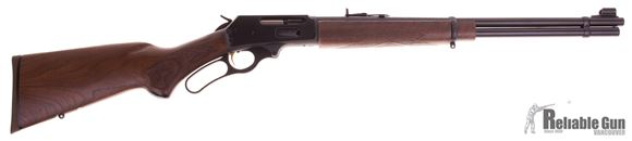 "Picture of Used Marlin 336C-35 Lever Action Rifle, 35 Rem, 20"", Blued, Walnut Pistol Grip Stock, 6rds, Excellent Condition"
