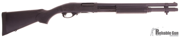 "Picture of Used Remington Model 870 Express Synthetic Pump Action Shotgun - 12Ga, 3"", 18-1/2"", Matte Black Synthetic Stock, 7rds, Single Bead Sight, Fixed Cylinder, Excellent Condition"