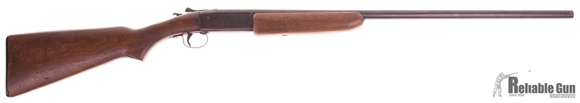 """Picture of Used Winchester Model 37 Single Shot Shotgun, 20-Gauge, 28"""" Barrel, Full Choke, Damaged Muzzle(Still in working shape) Otherwise Good Condition"""