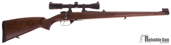 "Picture of Used CZ 527 FS Bolt Action Rifle - 223 Rem, 20.5"", Cold Hammer Forged, Polycoat, Turkish Walnut Mannlicher-Style Stock, Fixed Sights, Adjustable Single Set Trigger, 1 Magazine, w/ Bushnell Elite 2-7x32 CZ Rings,  Unfired/As New in Box"