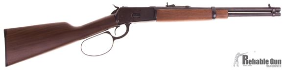 Picture of Used Rossi M92 Lever Action Trapper Carbine, 357 Mag,16'' barrel, Wood Stock, Big Loop, Saddle Ring, Good Condition