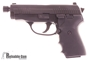 Picture of Used SIG SAUER P239 Tactical DA/SA Semi-Auto Pistol - 9mm, 106mm Extended Threaded Barrel, Hogue Grips &  Factory Grips, 3 Magazines, SIGLITE Night Sights, SRT, Original Box, Excellent Condition