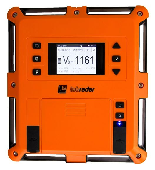 Picture of Labradar Ballistic Velocity Doppler Radar - Labradar Radar Unit, Measures Velocity Of Projectiles For Up To 100yds, Works With Rifles, Pistols, Shotgun Slugs, Airguns, & Archery, SD Card Storage, Tripod Not Included