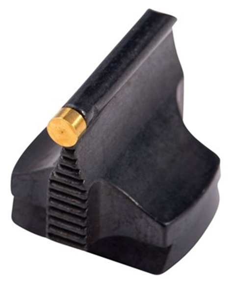 "Picture of Marble Arms Front Sights, Front Sight - 57W (Dovetail Style), 9/16"" H x 1/2"" W, 3/32"" Gold Bead"